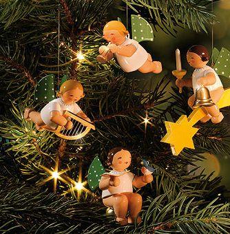 Wendt und Kühn Christbaumengel und Weihnachtsfiguren