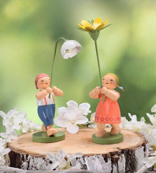 Blumenkinder und Freunde