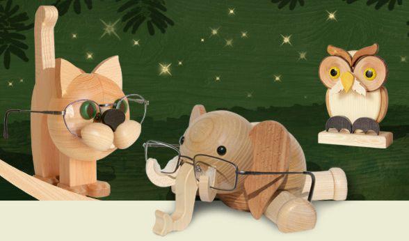 Lustige Geschenke aus Holz