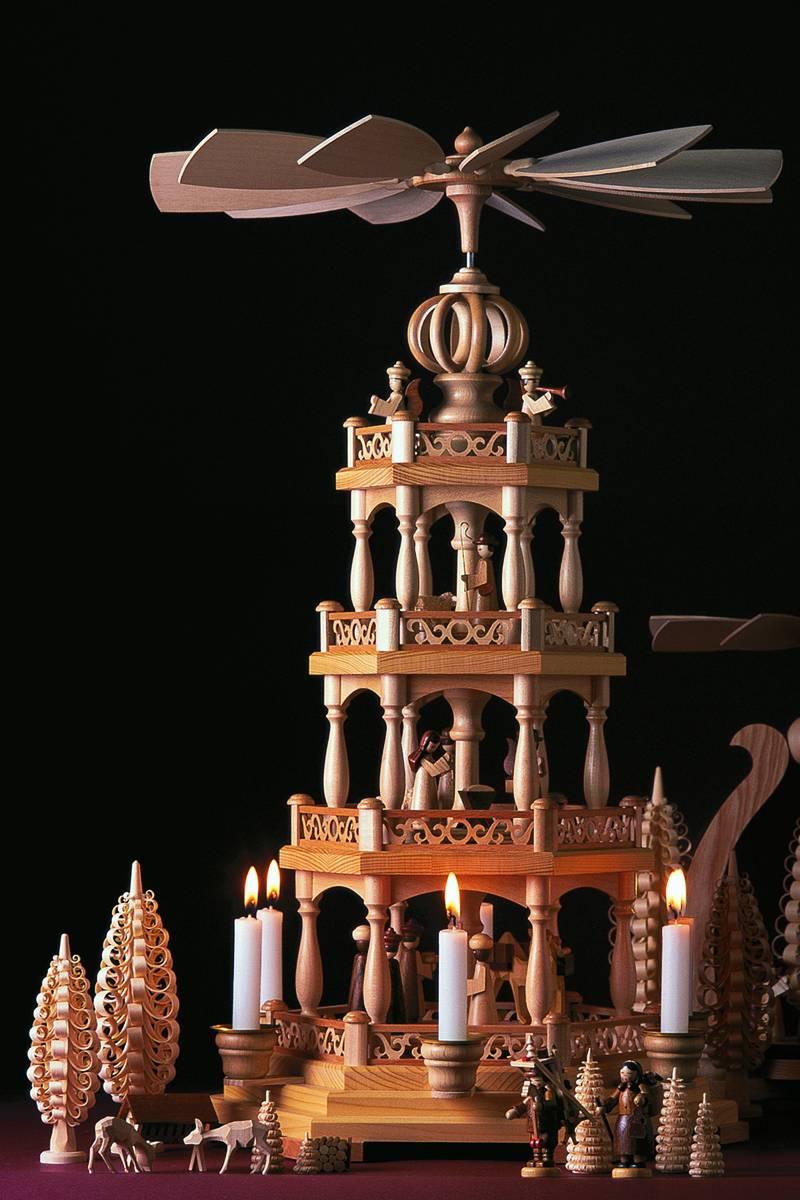 Mehrstöckige Pyramiden