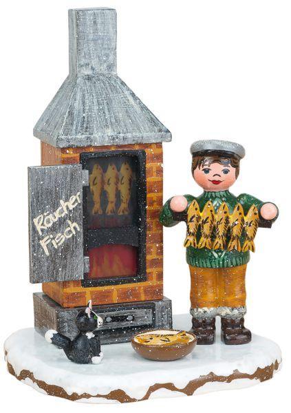 Original Hubrig Winterkinder - Fischräucherei elektrisch
