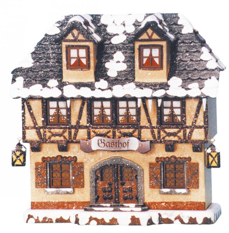Winterkinder Winterhaus Gasthof elektrisch