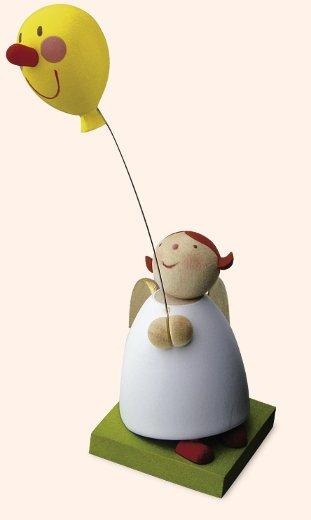 Günter Reichel - Schutzengel mit Luftballon und Gesicht