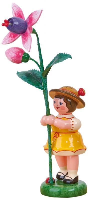 Blumenmädchen mit Fuchsie Neu 2021