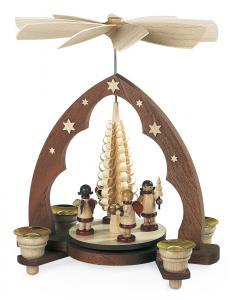 Pyramide Geschenkeengel Spitzbogen
