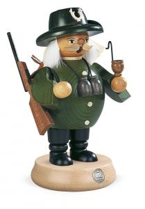 Räuchermann Förster grün mittelgroß