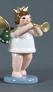 Engel mit Trompete und Krone