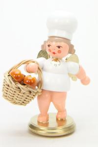 Bäckerengel mit Brötchenkorb