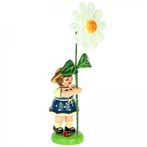 Blumenmädchen mit Margarite 11 cm