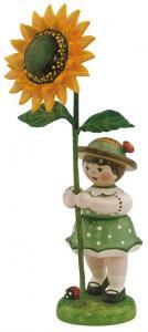 Blumenmädchen Sonnenblume klein