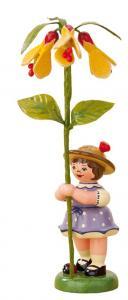 Blumenmädchen mit Schönmalve 11 cm
