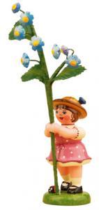 Blumenmädchen Vergissmeinnicht klein