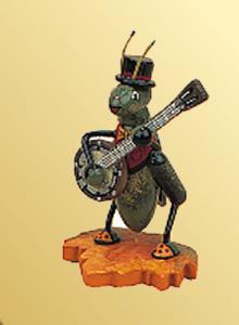 Grille mit Banjo