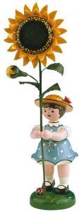 Blumenmädchen Sonnenblume groß 24 cm