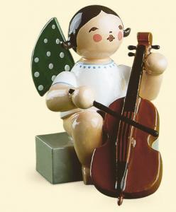 Grünhainichener Engel® mit Violoncello