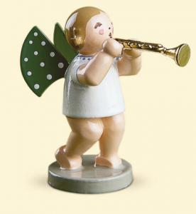 Grünhainichener Engel® mit Trompete