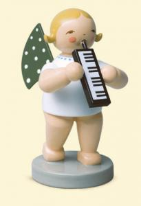 Grünhainichener Engel® mit Melodika