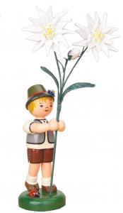 Blumenjunge Edelweiß groß 24 cm
