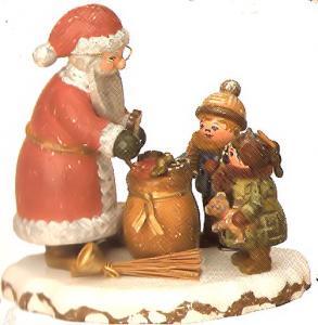 Winterkind  Danke, lieber Weihnachtsmann