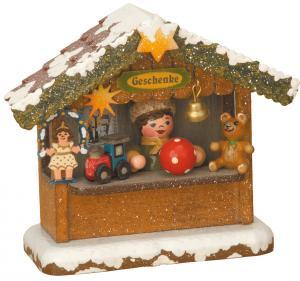 Winterkinder Geschenkehäusel elektrisch beleuchtet