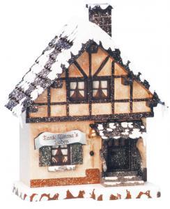 Winterkinder Winterhaus Tante Emma Laden elektrisch