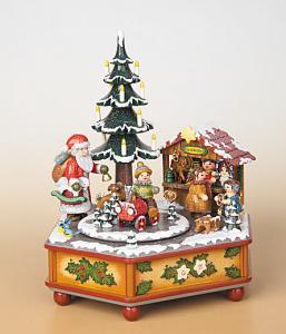 Musikdose Weihnachtszeit Original Hubrig