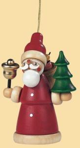 Baumbehang Weihnachtsmann farbig