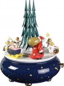 Spieldose Weihnachtszug
