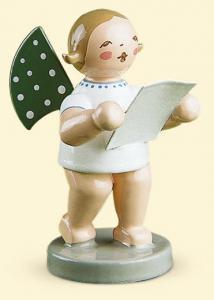 Grünhainichener Engel® mit Notenblatt