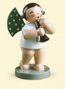 Grünhainichener Engel® mit Klarinette