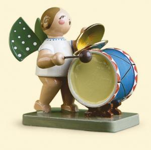 Grünhainichener Engel mit Schlagzeug