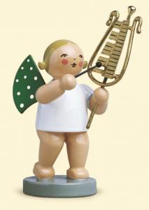 Grünhainichener Engel mit Glockenspiel