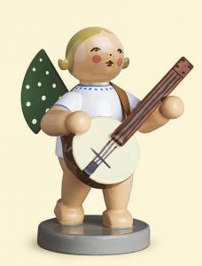 Grünhainichener Engel mit Banjo