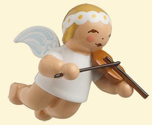 Wendt & Kühn Schwebeengel klein mit Geige