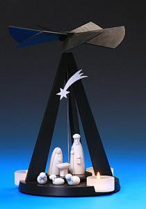 Mini - Delta Black Pyramide Christgeburt