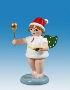 Ellmann Weihnachtsengel mit Löffel und Kochbuch und Mütze