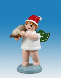 Ellmann Weihnachtsengel mit Stollen und Mütze