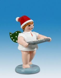 Ellmann Weihnachtsengel mit Backblech und Mütze