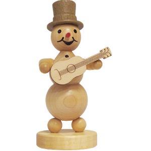 Schneemannmusikant  Gitarrenspieler