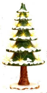 Hubrig Winterkinder Lichterbaum elektrisch beleuchtet NEU 2010