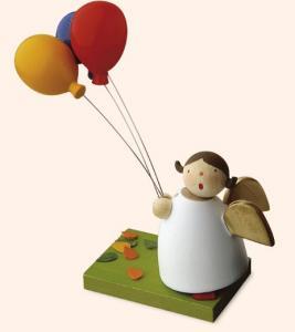 Günter Reichel - Schutzengel mit drei Luftballons