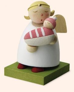 Günter Reichel - Schutzengel mit Baby Mädchen