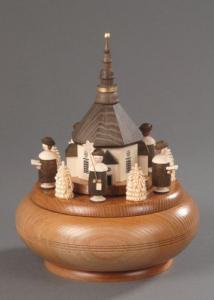 Seiffener Spieldose Motiv Seiffener Kirche
