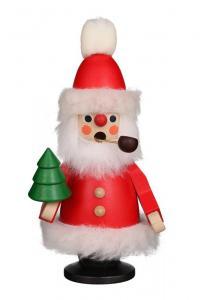 Räuchermann Weihnachtsmann rot mini