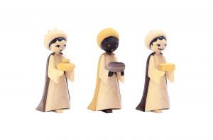 Heilige 3 Könige gebeizt