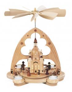 Bogenpyramide Frauenkirche LED natur