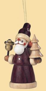 Baumbehang Weihnachtsmann natur