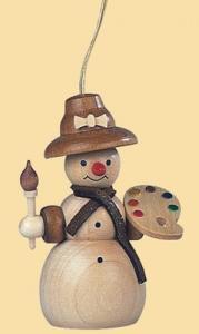 Baumbehang Schneefrau Malerin natur