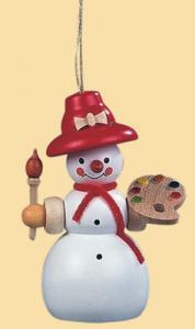 Baumbehang Schneefrau Malerin