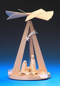 Mini - Delta  Pyramide natur Christgeburt